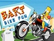 Bart se Divierte en Moto